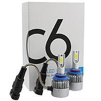Комплект LED ламп C6 H11, Светодиодные лампы головного света, Автомобильное освещение, Автосвет