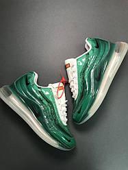 Мужские кроссовки Nike Air Max 720/95 Deluxe (зеленые)