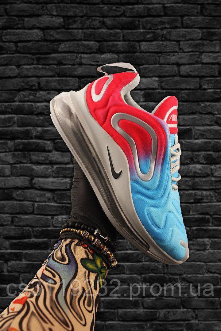 Мужские кроссовки Nike Air Max 720 (красно-голубые)