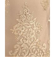 / Размер 50-52,54-56,58-60 / Женское нарядное и привлекательное платье 745-1-Бежевый, фото 4
