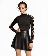 Женская черная стильная  кофта H&M, фото 1