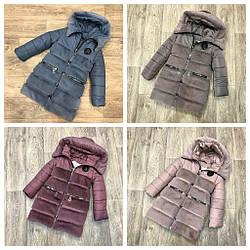 Топ продаж, тёплая зимняя куртка с эко мутоном