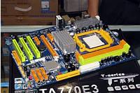 ТОПОВАЯ Плата под AMD sAM3 BioSTAR TA770E3 на DDR3 125W! Понимает ЛЮБЫЕ 2-6ЯДЕРНЫЕ Процы до PHENOM II X6 1090T