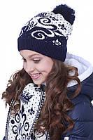 Детская шапка на девочку Мика Nui Very