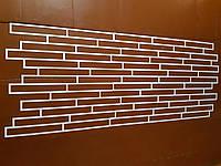 Гипсовый декоративный кирпич трафарет из пластика под кирпич 310×40 мм клинкерный кирпич клинкерная плитка