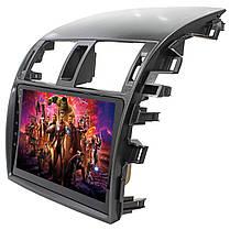 "Штатная автомобильная магнитола Toyota Corolla 9"" (2009-2013г.) сенсор WiFi GPS 4 ядра 1/16 Гб GPS Android, фото 2"