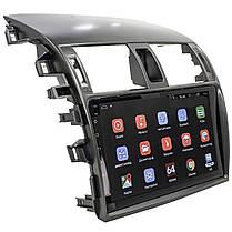"Штатная автомобильная магнитола Toyota Corolla 9"" (2009-2013г.) сенсор WiFi GPS 4 ядра 1/16 Гб GPS Android, фото 3"