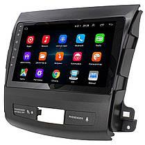 """ϞШтатная магнитола для автомобиля Mitsubishi Outlander 2005-2012г экран 9"""" GPS-навигация WiFi Android 8.1 хит*, фото 2"""