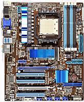ТОПОВАЯ Плата AMD AM3+ sAM3 на DDR3 ! ASUS M4A88-V EVO 140W с HDMI ! Понимает ВСЕ 2-6 ЯДЕРНЫЕ ПРОЦЫ +FX 125W