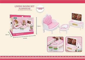 Мебель для флоксовых животных B08 Гостиная (аналог Sylvanian Families)