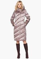 Воздуховик Braggart Angel's Fluff 30952 | Женская зимняя куртка пудра, фото 2