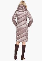 Воздуховик Braggart Angel's Fluff 30952 | Женская зимняя куртка пудра, фото 3