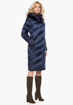 Воздуховик Braggart Angel's Fluff 30952   Куртка зимняя женская синяя, фото 2