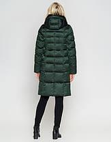 Воздуховик Braggart Angel's Fluff 47250 | Женская зимняя куртка зеленая, фото 3