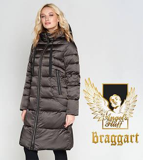 Воздуховик Braggart Angel's Fluff 47250 | Зимняя женская куртка капучино, фото 2