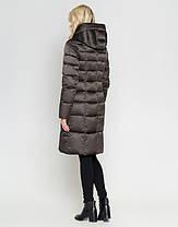 Воздуховик Braggart Angel's Fluff 47250 | Зимняя женская куртка капучино, фото 3