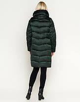 Воздуховик Braggart Angel's Fluff 27005 | Женская зимняя куртка зеленая, фото 3