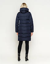 Воздуховик Braggart Angel's Fluff 27005 | Куртка женская зимняя синяя, фото 3