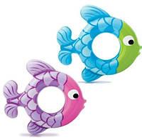 """Надувной круг Intex """"Рыбки"""" 51 см. (Интекс 59222)"""