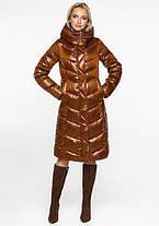 Воздуховик Braggart Angel's Fluff 31024 | Зимняя женская куртка сиена, фото 2