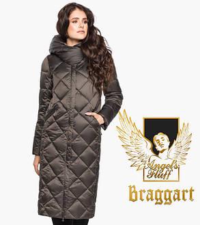 Воздуховик Braggart Angel's Fluff 31031 | Куртка женская на зиму капучино, фото 2