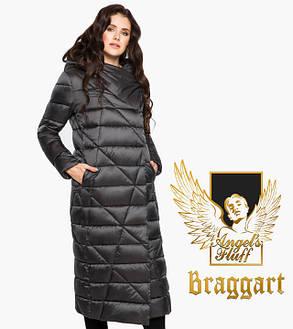 Воздуховик Braggart Angel's Fluff 31058 | Куртка зимняя женская графитовая, фото 2