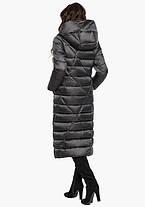 Воздуховик Braggart Angel's Fluff 31058 | Куртка зимняя женская графитовая, фото 3