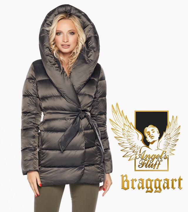 Воздуховик Braggart Angel's Fluff 31064 | Куртка женская зимняя капучино