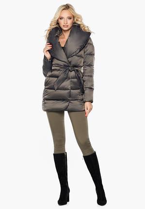 Воздуховик Braggart Angel's Fluff 31064 | Куртка женская зимняя капучино, фото 2