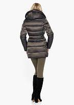 Воздуховик Braggart Angel's Fluff 31064 | Куртка женская зимняя капучино, фото 3