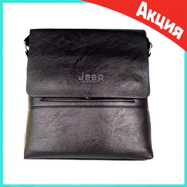 Мужская сумка Jeep Buluo 9008   Черная