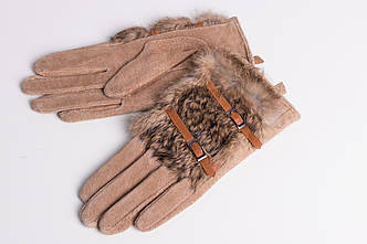 Перчатки женские GLOVES 1351 BEJ 2 REMESHOK