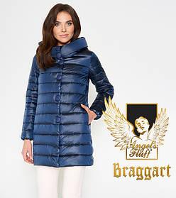 Воздуховик Braggart Angel's Fluff 35120 | Женская куртка осень-весна темная лазурь