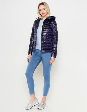 Воздуховик Braggart Angel's Fluff 24992 | Куртка женская весенне-осенняя фиолетовая, фото 2