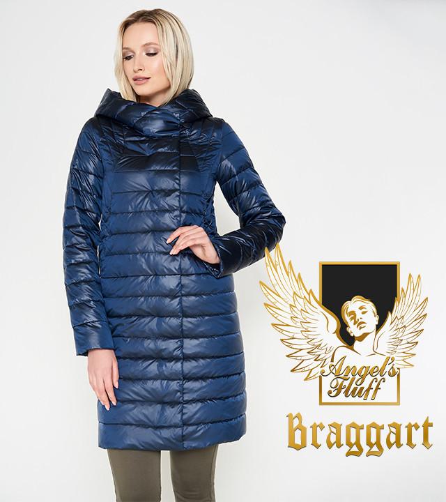 Воздуховик Braggart Angel's Fluff 28215 | Женская куртка весна-осень темная лазурь