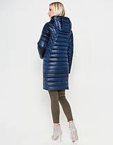 Воздуховик Braggart Angel's Fluff 28215 | Женская куртка весна-осень темная лазурь, фото 3