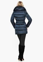 Воздуховик Braggart Angel's Fluff 31064 | Зимняя женская куртка сапфировая, фото 3