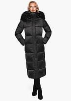 Воздуховик Braggart Angel's Fluff 31072 | Женская теплая куртка черная, фото 2