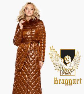 Воздуховик Braggart Angel's Fluff 31012   Женская зимняя куртка сиена, фото 2
