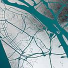 """Постер """"Лондон / London"""" фольгированный А3, фото 3"""