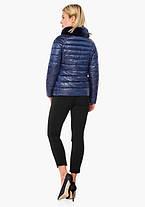 Воздуховик Braggart Angel's Fluff 40267 | Осенне-весенняя женская короткая куртка сапфировая, фото 3