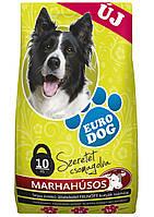 Сухой корм для Собак EURO DOGс Говядиной 10 кг