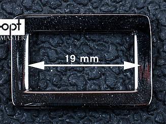 Рамка для сумки 19мм, арт. 65-114, темный никель