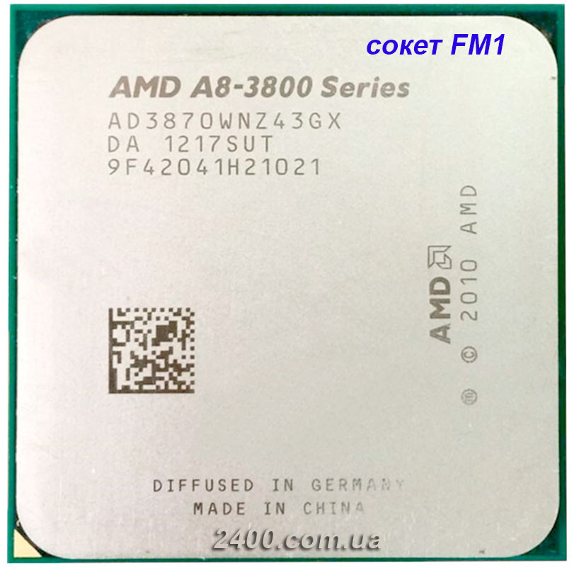 Процессор AMD A8 3870K APU AD3870WNZ43GX сокет фм1 3000мгц