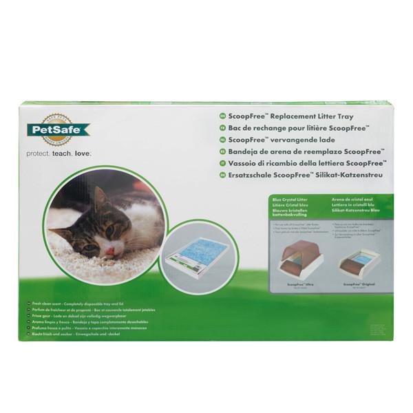 Поддон с наполнителем для кошачьего туалета PetSafe ScoopFree Blue Crystal