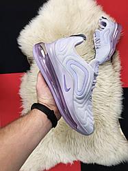 Женские кроссовки Nike  Air Max 720 (сиреневые)
