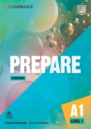 Cambridge English Prepare! Second Edition 1 Workbook with Audio Download