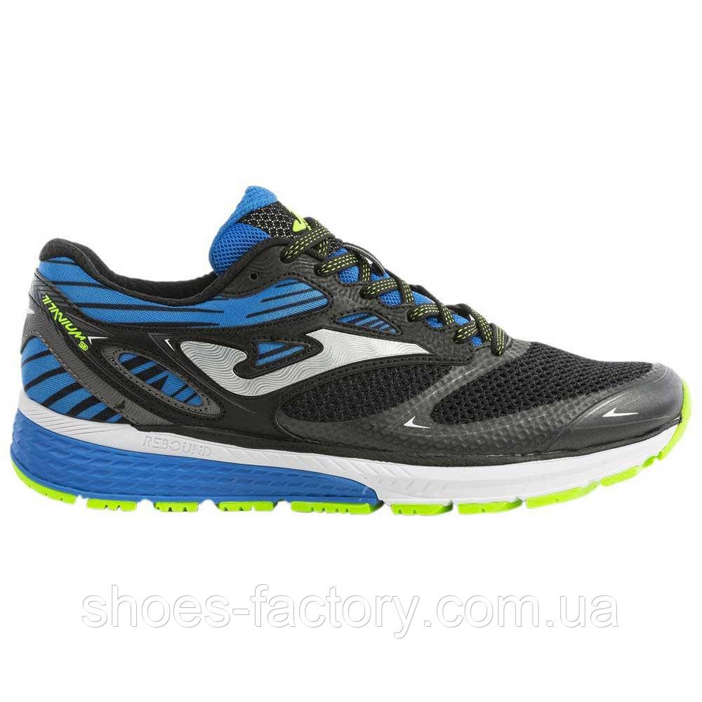 Кроссовки JOMA R.TITANIUM MEN 901 BLACK-BLUE, (Оригинал)