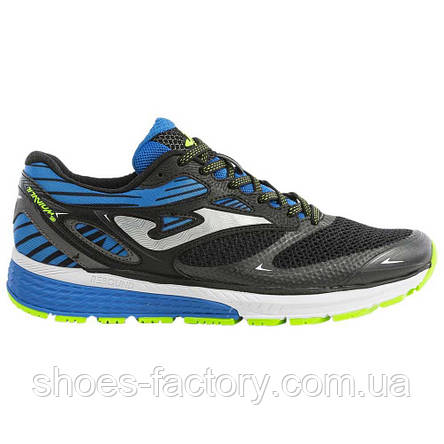 Кроссовки JOMA R.TITANIUM MEN 901 BLACK-BLUE, (Оригинал), фото 2