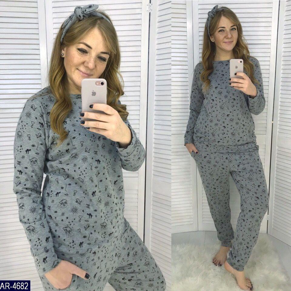 Пижама с повязкой   (размеры 48-60) 0211-16